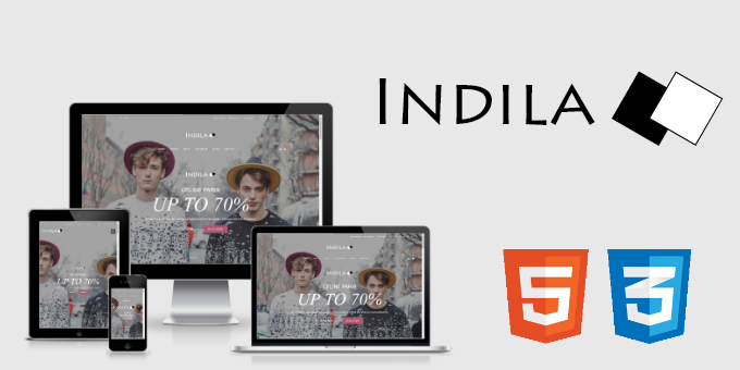 Indila - Multipurpose eCommerce HTML5 Template