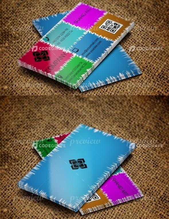Jabbi V6 Business Card Design