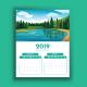 Six Page Calendar Template