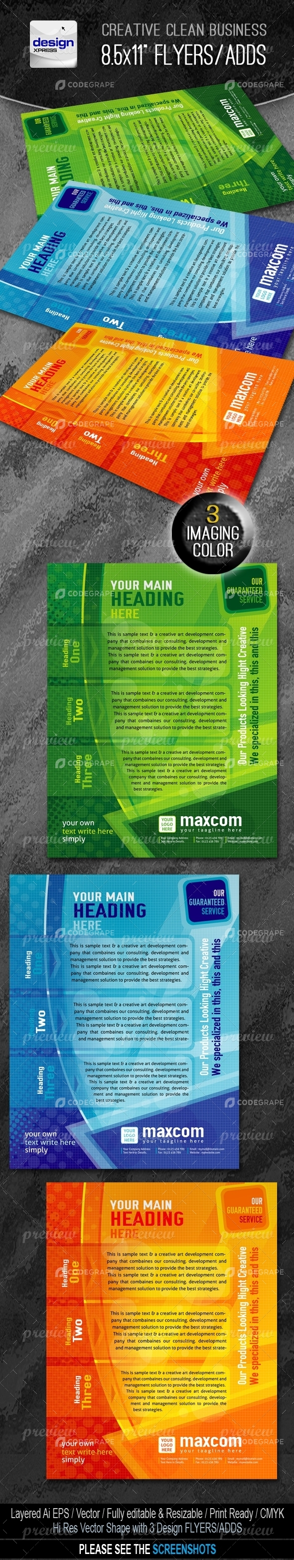 Maxcom Flyers/Adds