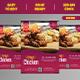 Modern Food Flyer Template - 01