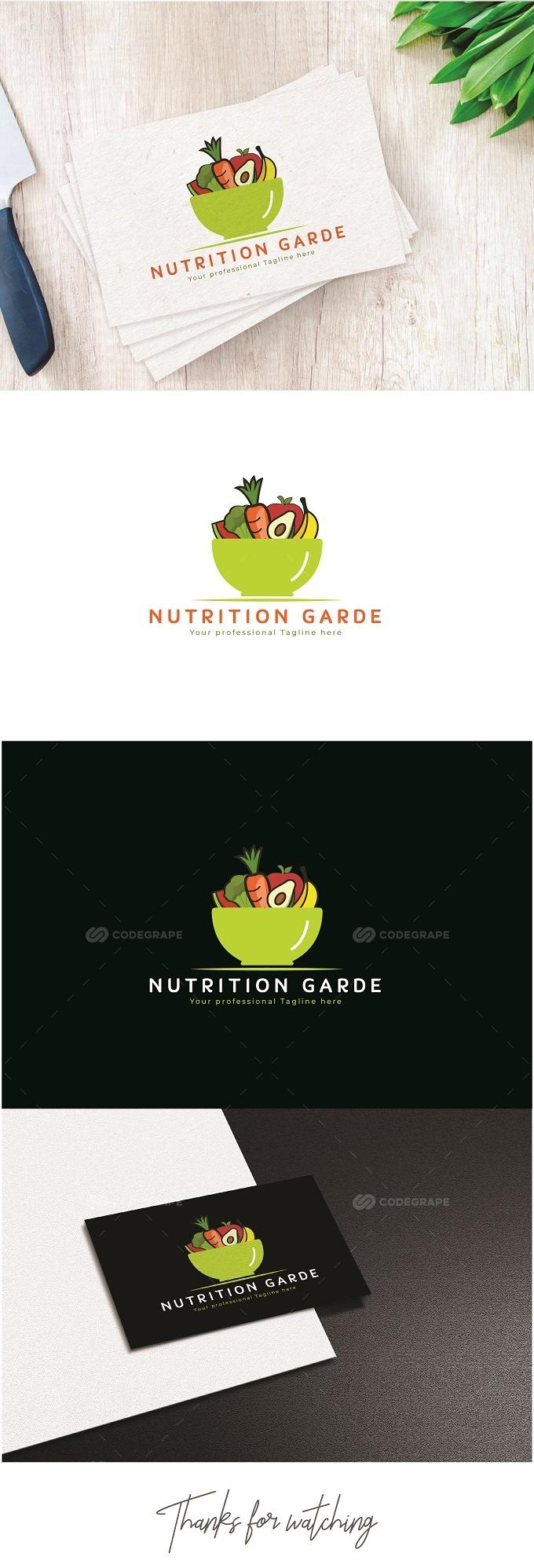 Nutrition Garde Logo Design