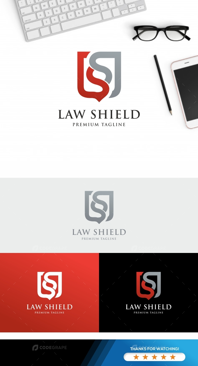 Law Shield Logo