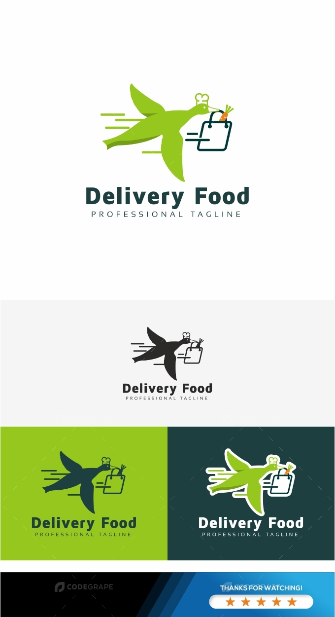 Delivery Food Logo