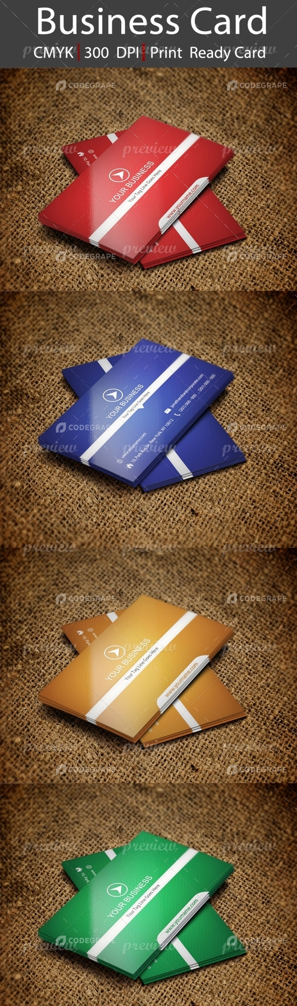 Creative Business Card Vol 306
