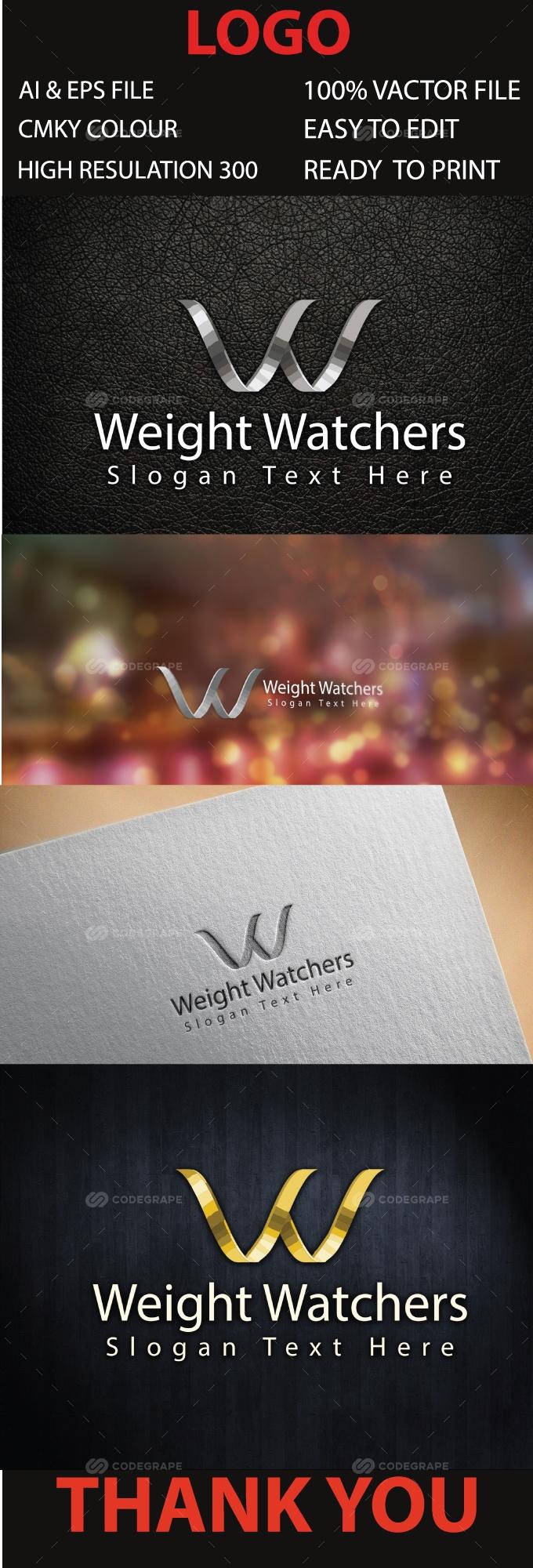 Ww Letter Logo