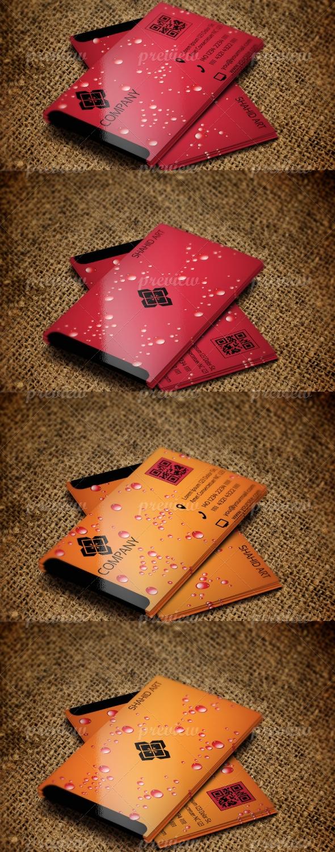 Jabbi V8 Summer Cool Set Business Card Design