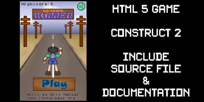 Desert Runner | HTML5 | Construct2