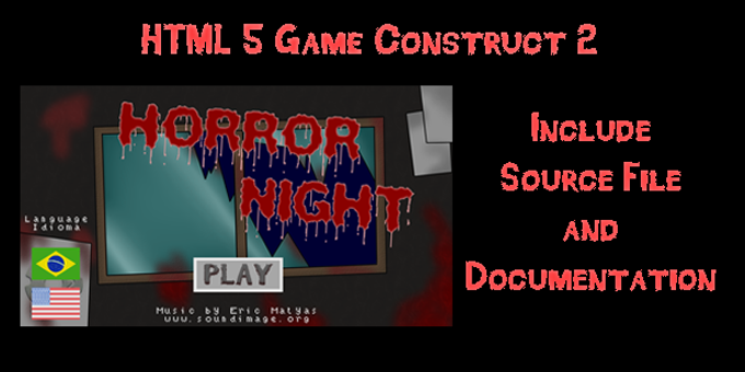 Horror Night | HTML5 | Construct2