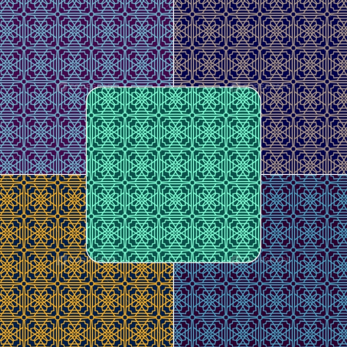 Photoshop Arabic Pattern