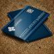 Jabbi V12 Blue3 Corporate  Business Card Design
