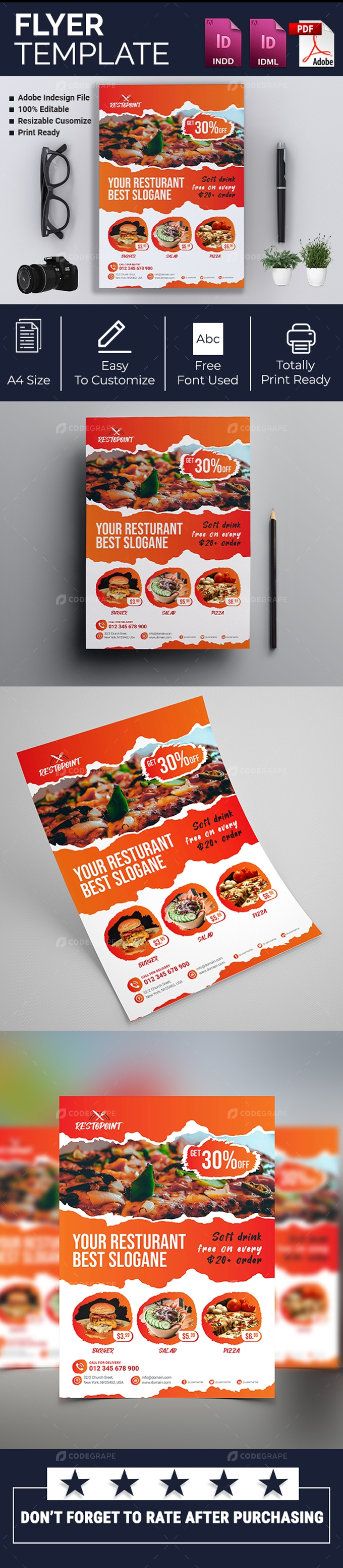 Restaurant Promotional Flyer