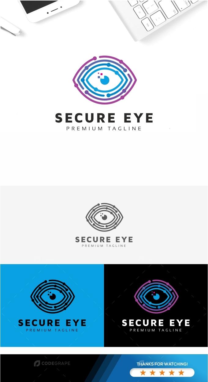 Secure Eye Logo