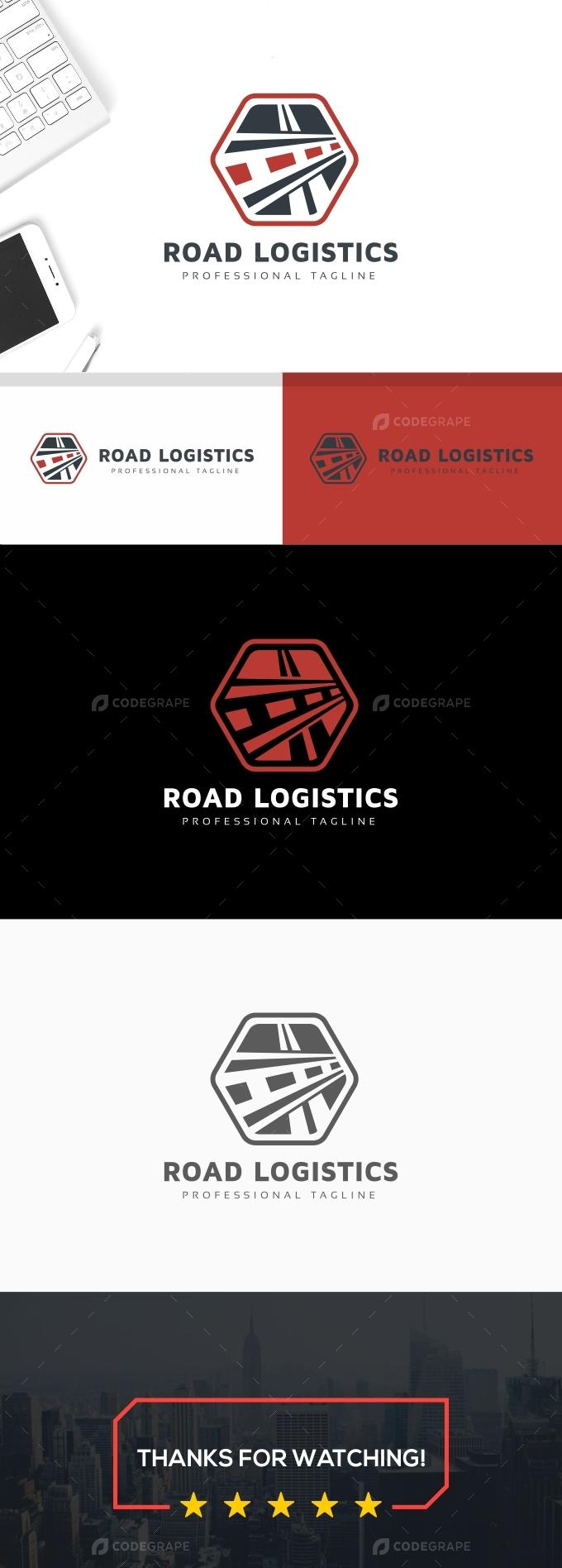 Road Logistics Logo