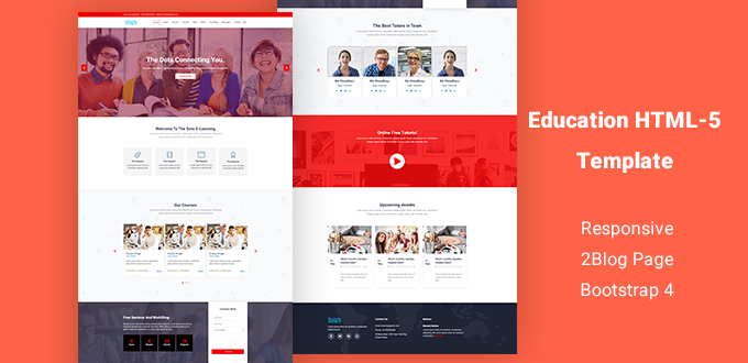 Pranto - Responsive HTML5 Education Template