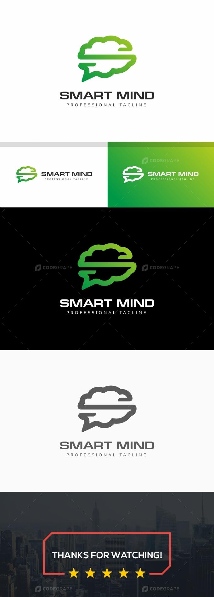 Smart Mind S Letter Logo