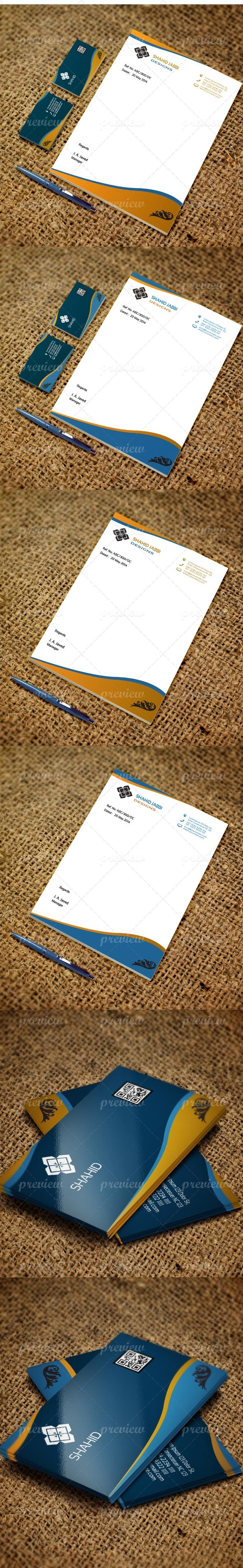Jabbi Business Card & Letterhead