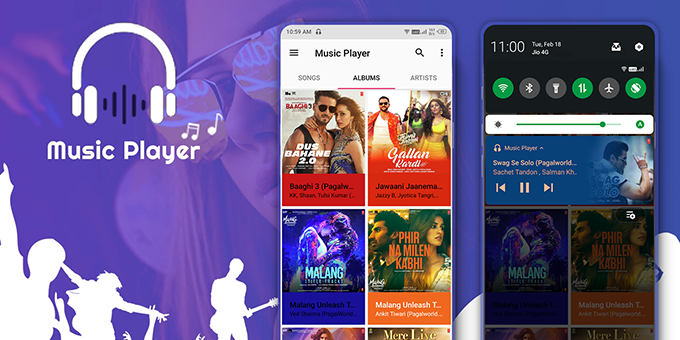 Music Player - Android Music Player Source Code