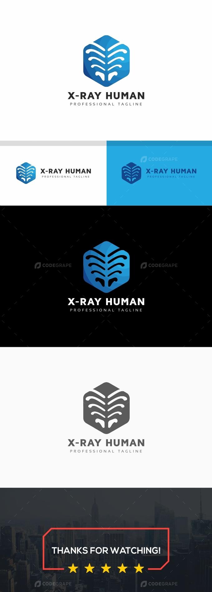 X-Ray Human Logo