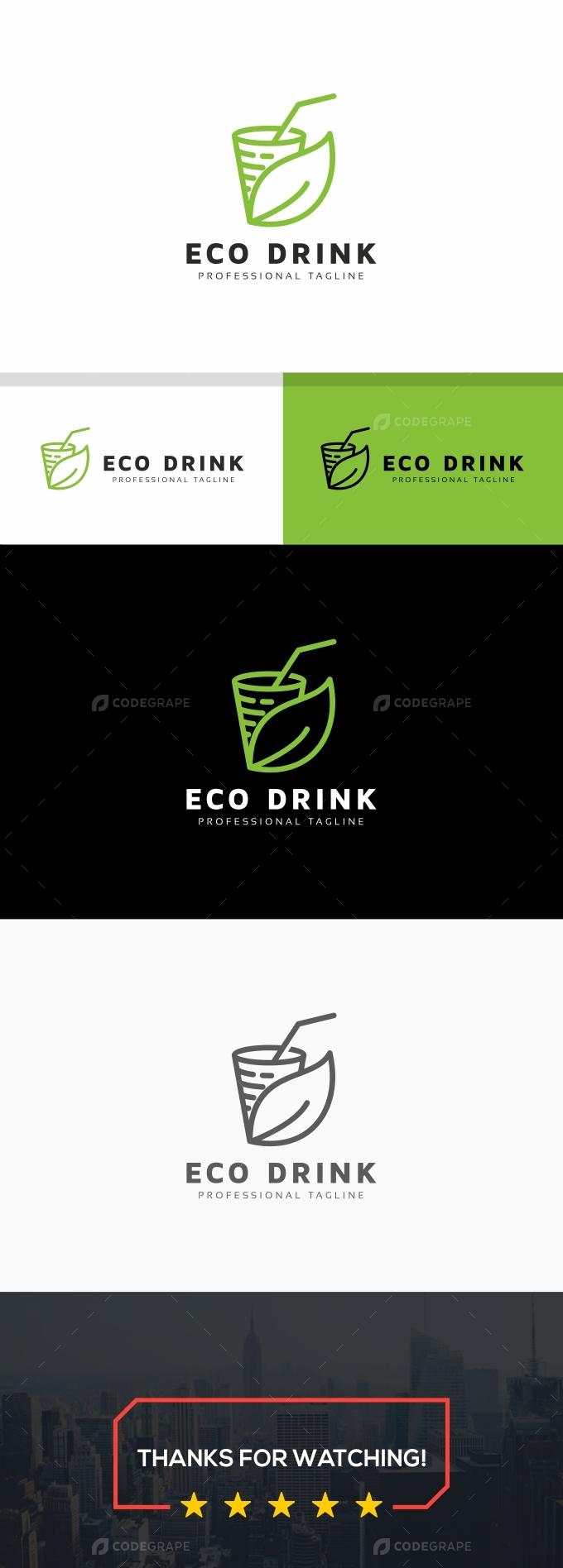 Eco Drink Logo