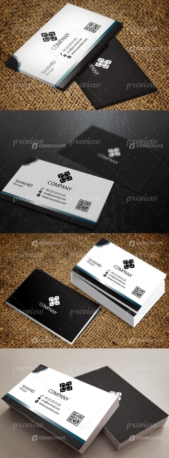Jabbi V13 Business Card Design