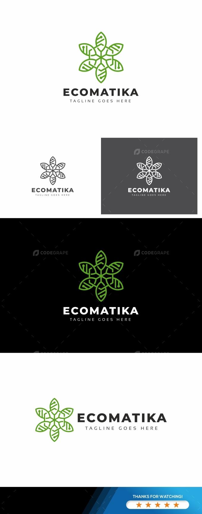 Eco Leaves Technology Logo