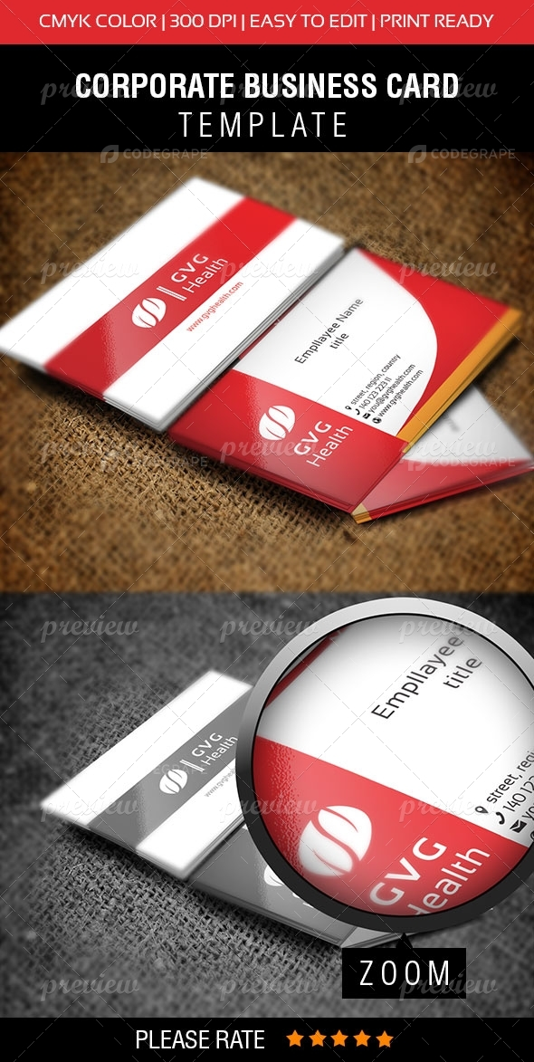 GVG Health Business Card