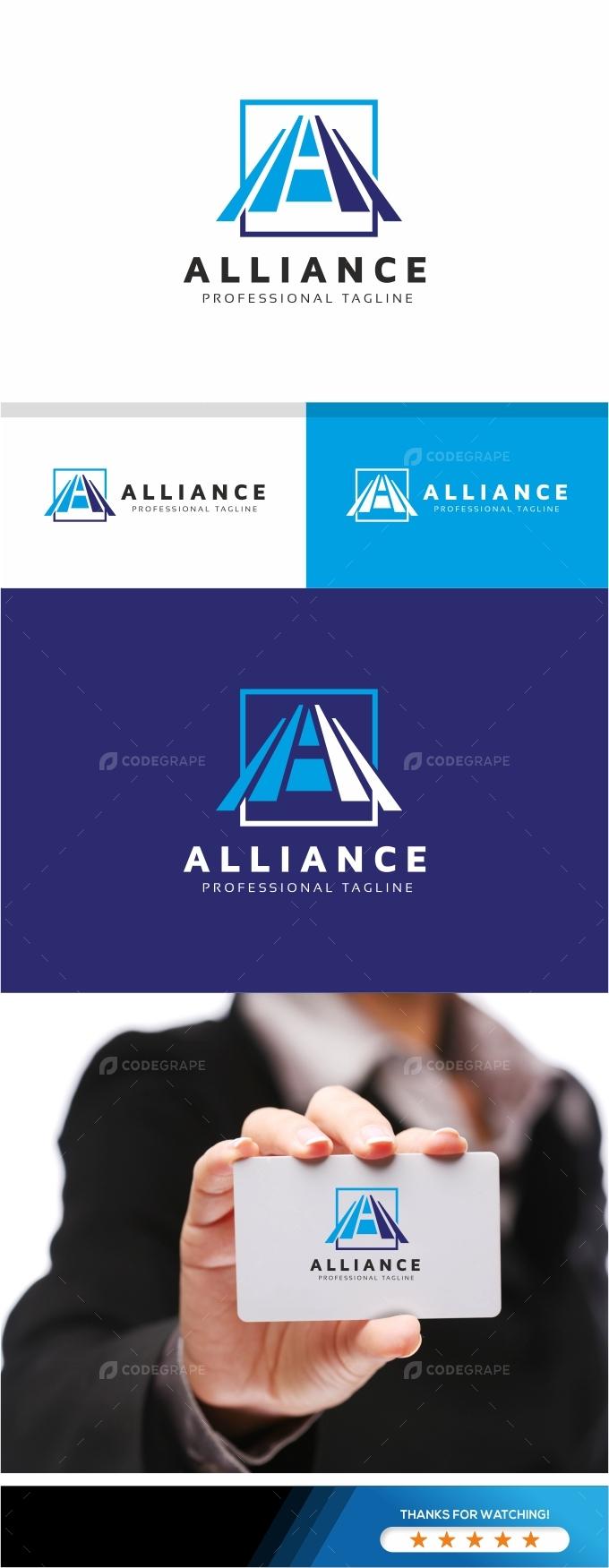 Alliance A Letter Logo