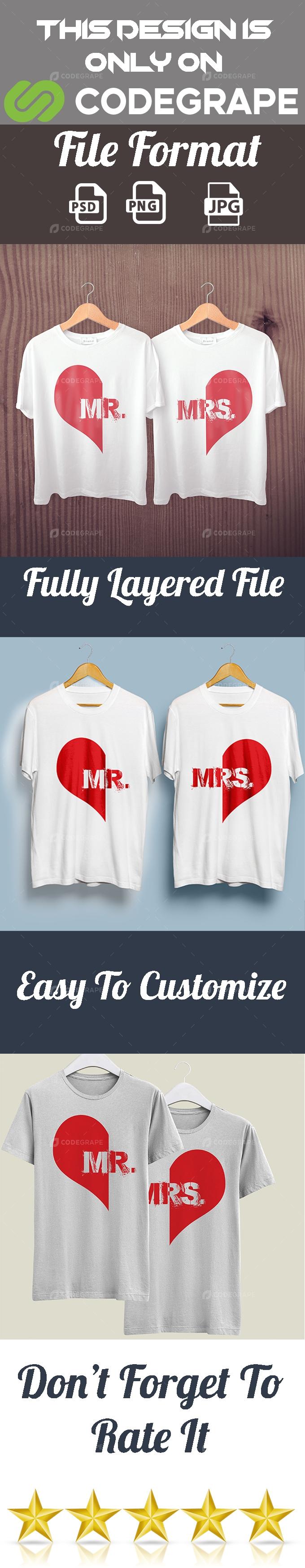 Couple T-Shirt Design