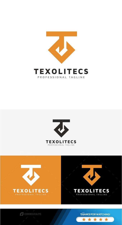 Texolitecs T Letter Logo