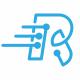 Radiatrum R Letter Logo