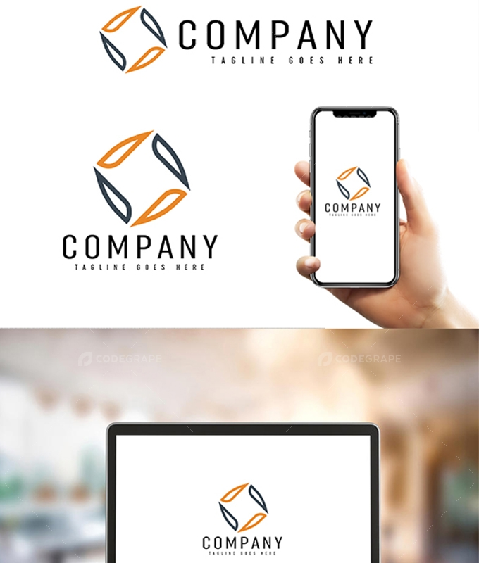 Company Simple Unique Logo