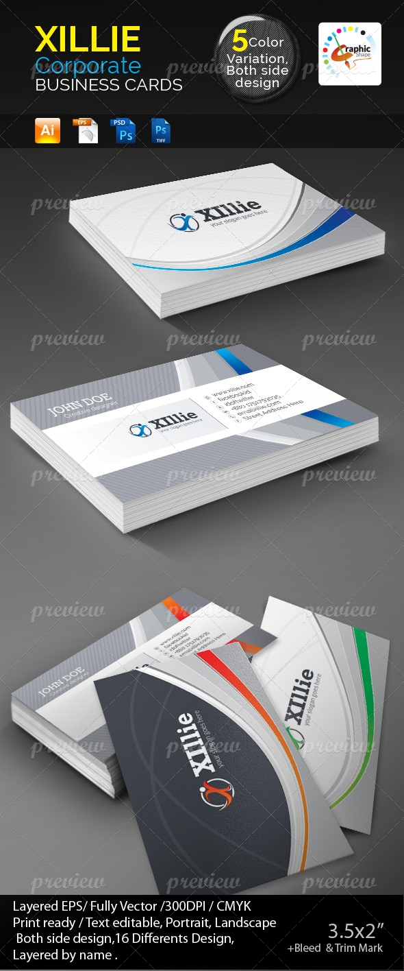 Xillie Business Cards