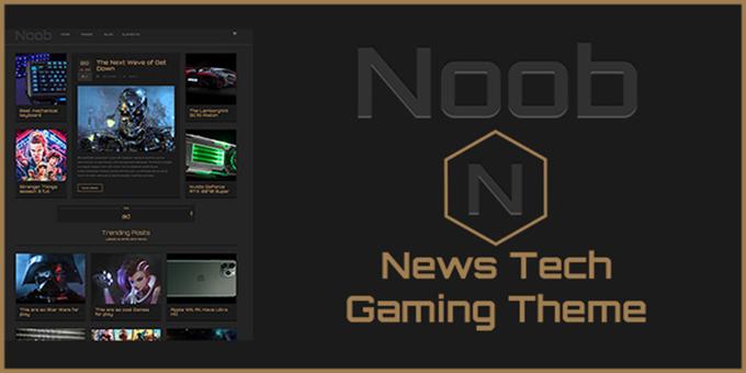 Noob - News Tech MultiPurpose Magazine Portfolio Theme