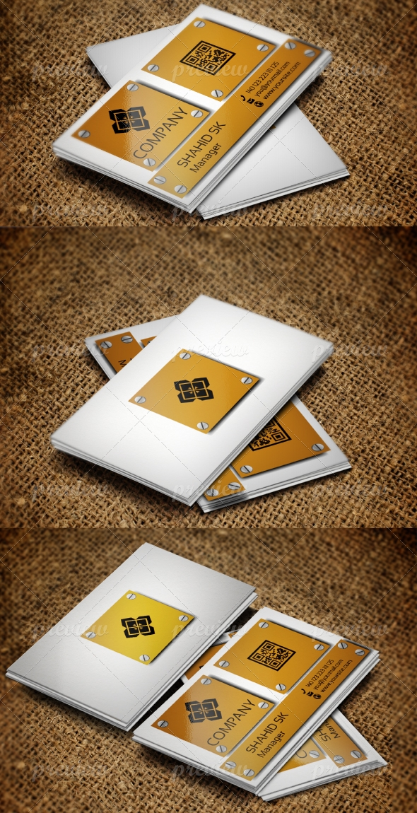 Jabbi V20 Business Card design