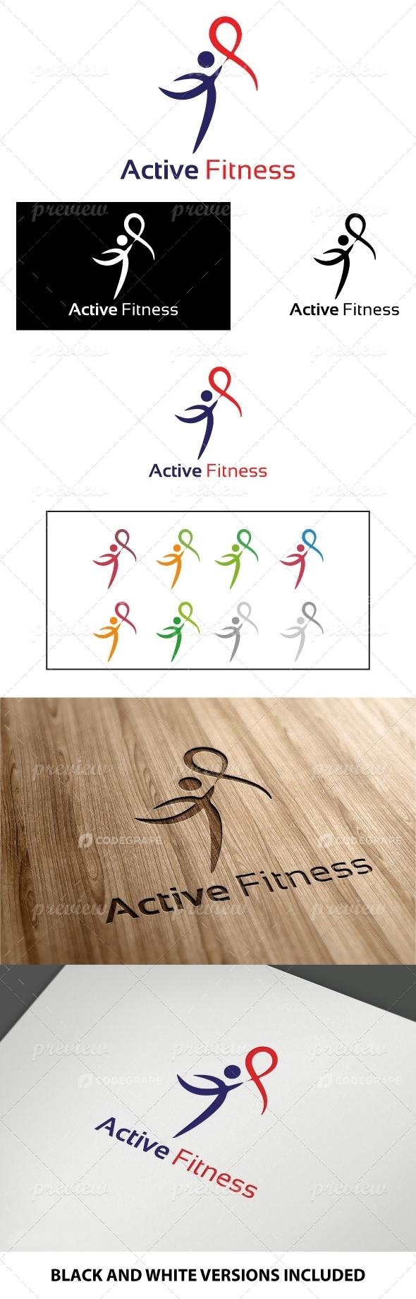 Active Fitness Logo