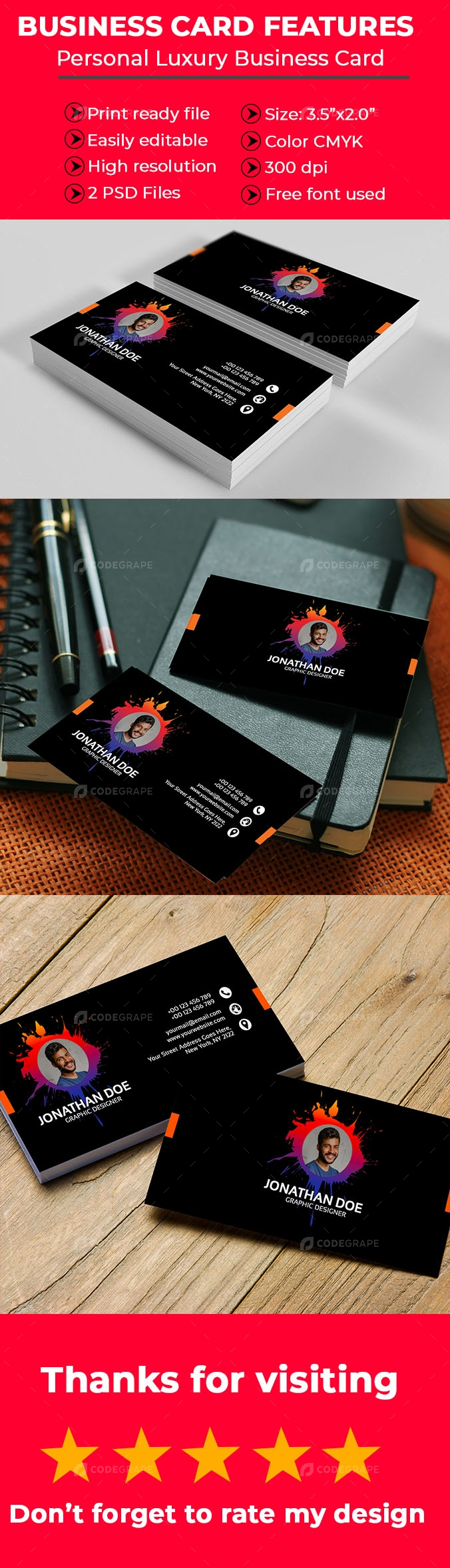 Personal Luxury Business Card