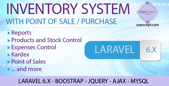 Inventory System Point Of Sale And Purchase