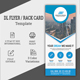 DL Flyer Template / Rack card