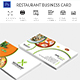 Restaurant Business Card