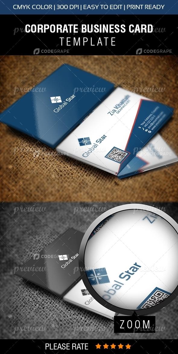 Global Star Vol-11 Business Card