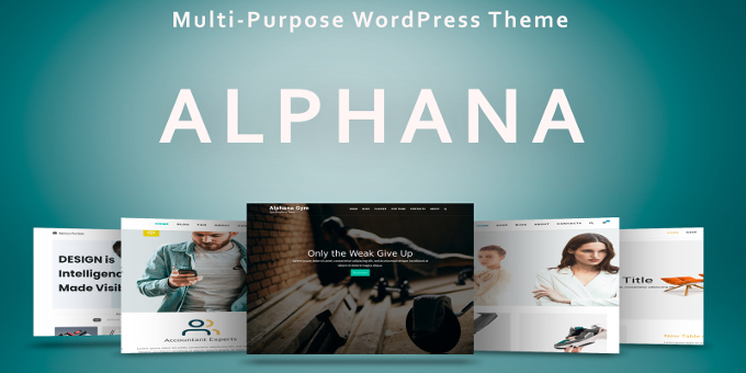 Alphana - Multi-Purpose WordPress Theme