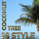 18 Natural Coconut Tree Style Text Effect