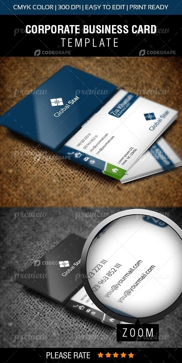 Global Star Vol-13 Business Card