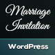 Marriage Invitation WordPress Theme