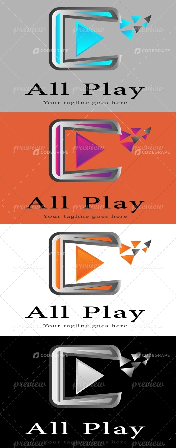 ALL Play Logo