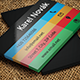Business Card Template - Colors