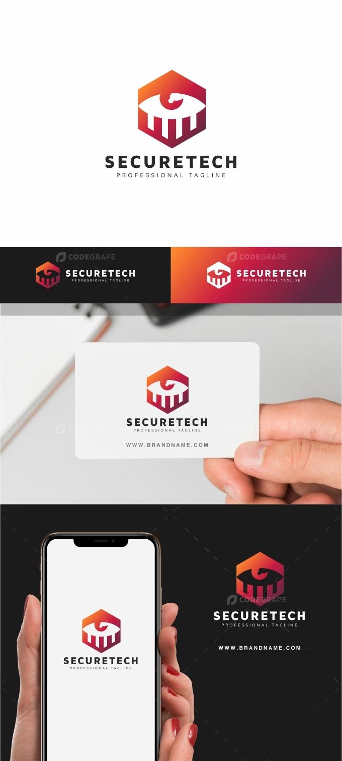 Eye Secure Tech Logo