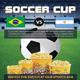 Soccer Cup 2014 Football Flyer