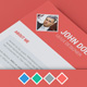 Diamond Resume/CV | 3 Piece | 4 Color | Cover Letter - Resume - Portfolio